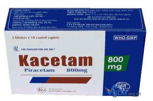Tác dụng của thuốc Piracetam là gì?