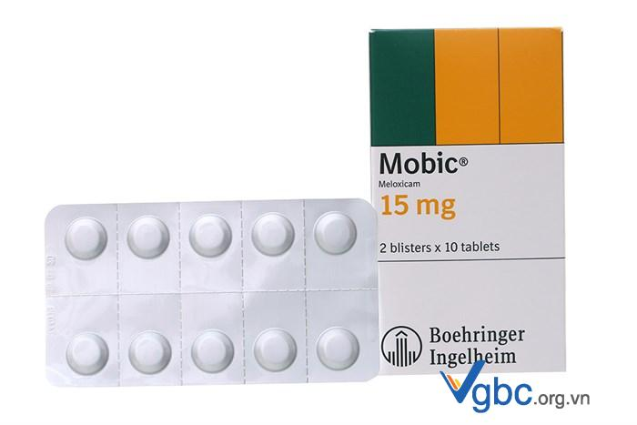 thuốc mobic 15mg giá bao nhiêu